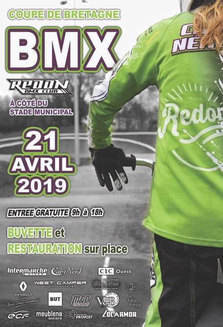 affiche course redon 21 avril